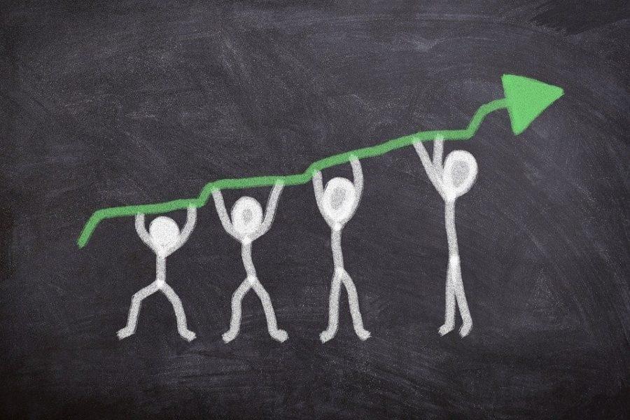 デジタルサイネージ市場成長イメージ