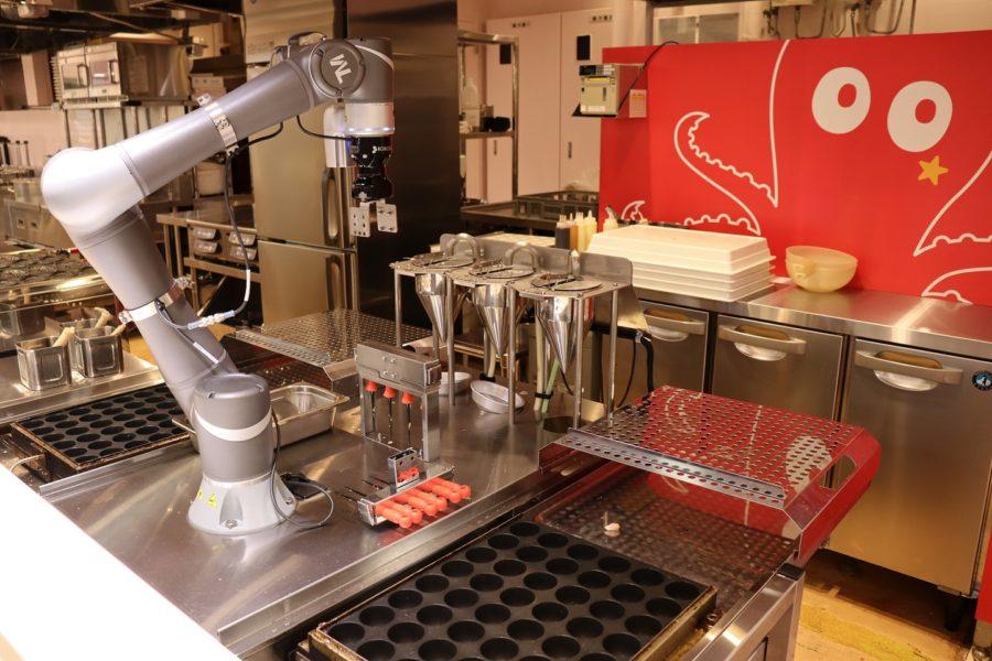 たこやき調理ロボット