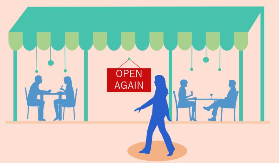 飲食店営業再開イメージ