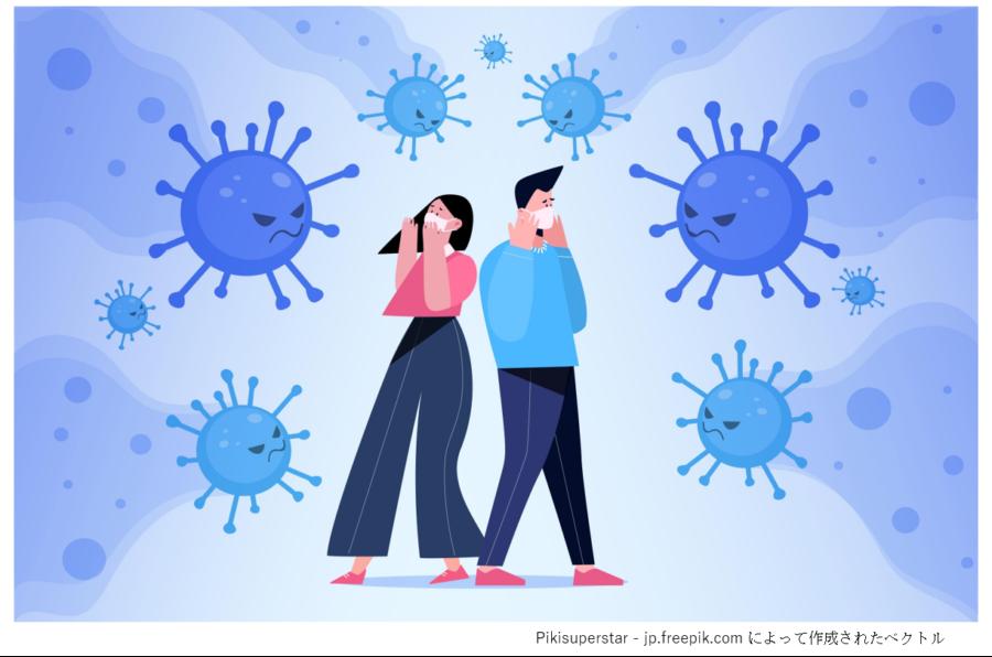 コロナウイルスイメージ