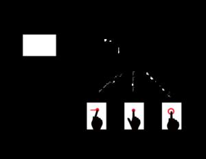 インタラクティブ型デジタルサイネージ